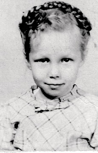 Aunt Pat as Little Girl