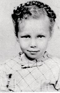 Aunt Pat as Little Girl